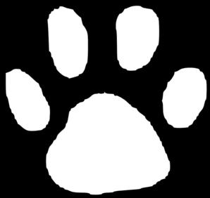 Lion Paw Print Vector