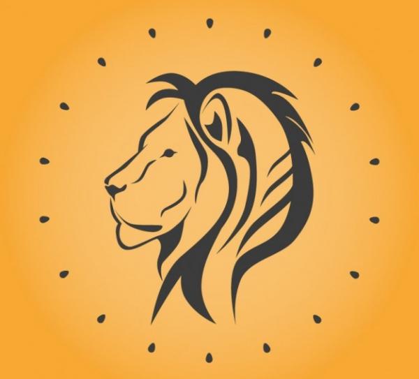 Lion Vector Free