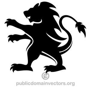 Lion Vector Graphic
