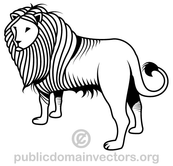 600x575 Free Lion Vector Art Psd Files, Vectors Amp Graphics