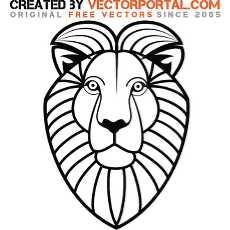 230x230 Free Lion Vectors 232 Downloads Found