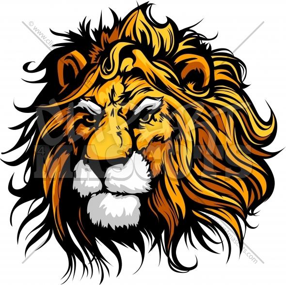 590x588 Lion Clipart Clipart Vector Graphic