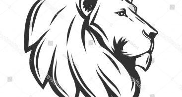 367x195 Lion Head Profile Vector Free Vector Art, Images, Graphics Amp Clipart