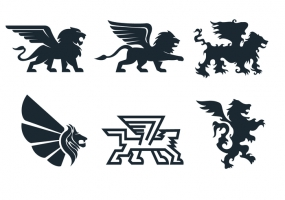 285x200 Winged Lion Free Vector Graphic Art Free Download (Found 2,601