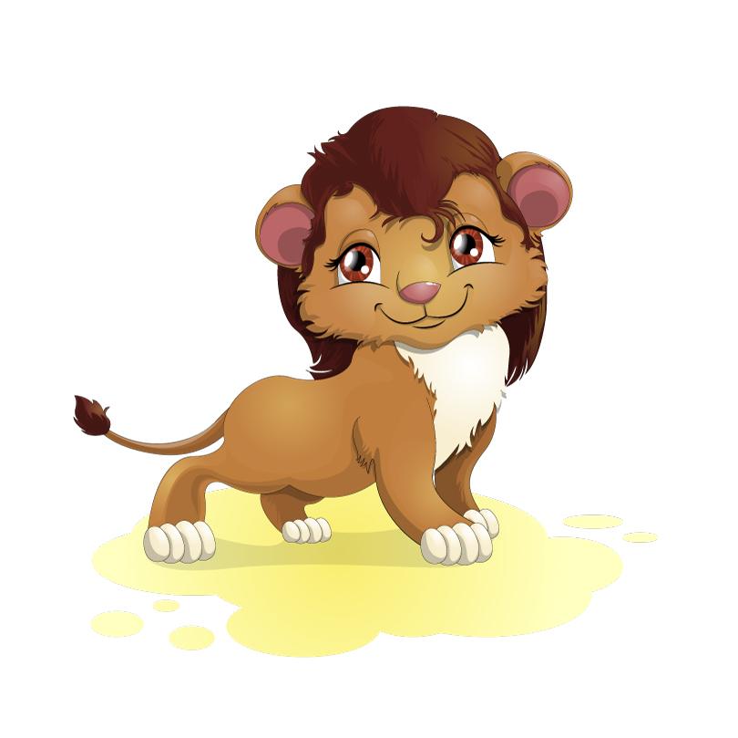 810x809 Cartoon Lion Vector Free Vector Graphic Download