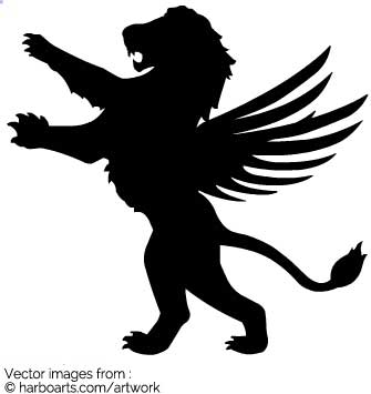 335x355 Download Standing Lion