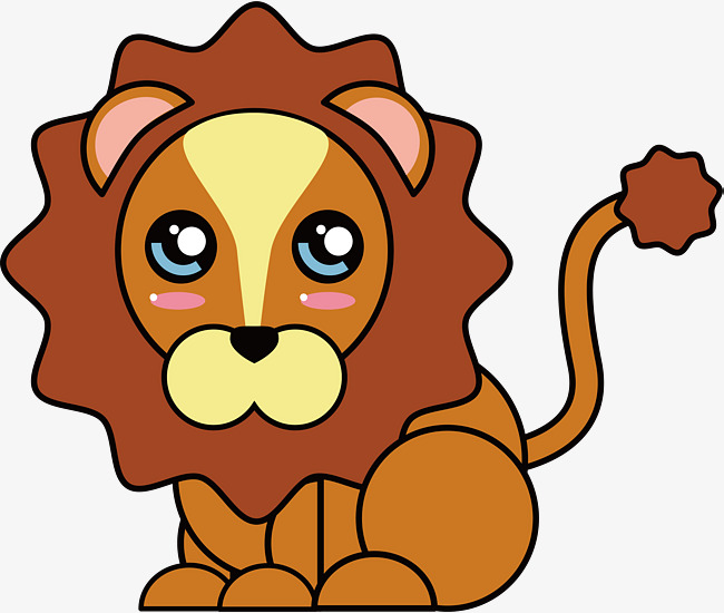 650x550 Cartoon Lion, Cartoon Vector, Lion Vector, Lion Clipart Png And