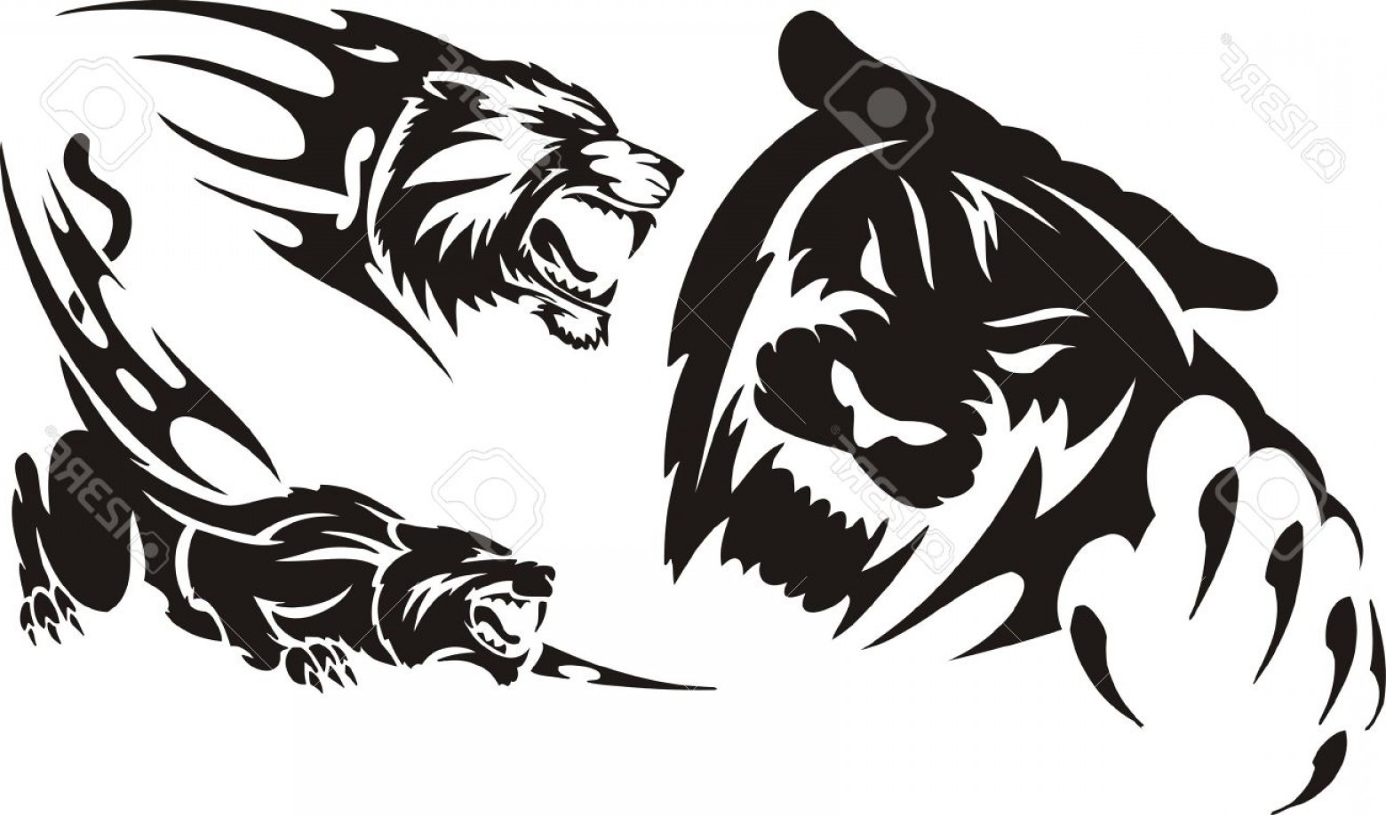Lioness Vector at GetDrawings com | Free for personal use