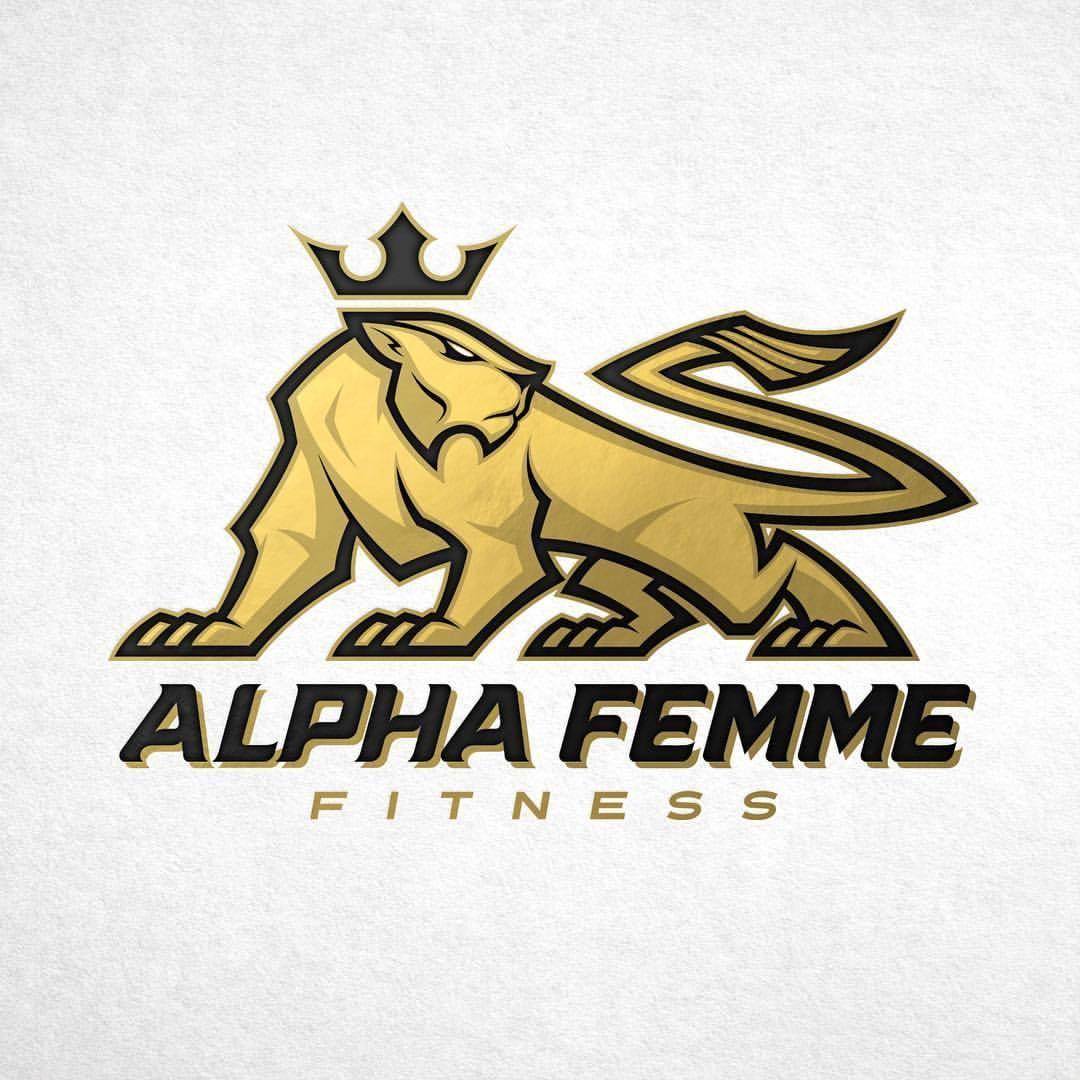 1080x1080 Absorb81 Final Lioness Mascotlogo For Alpha Fitness.