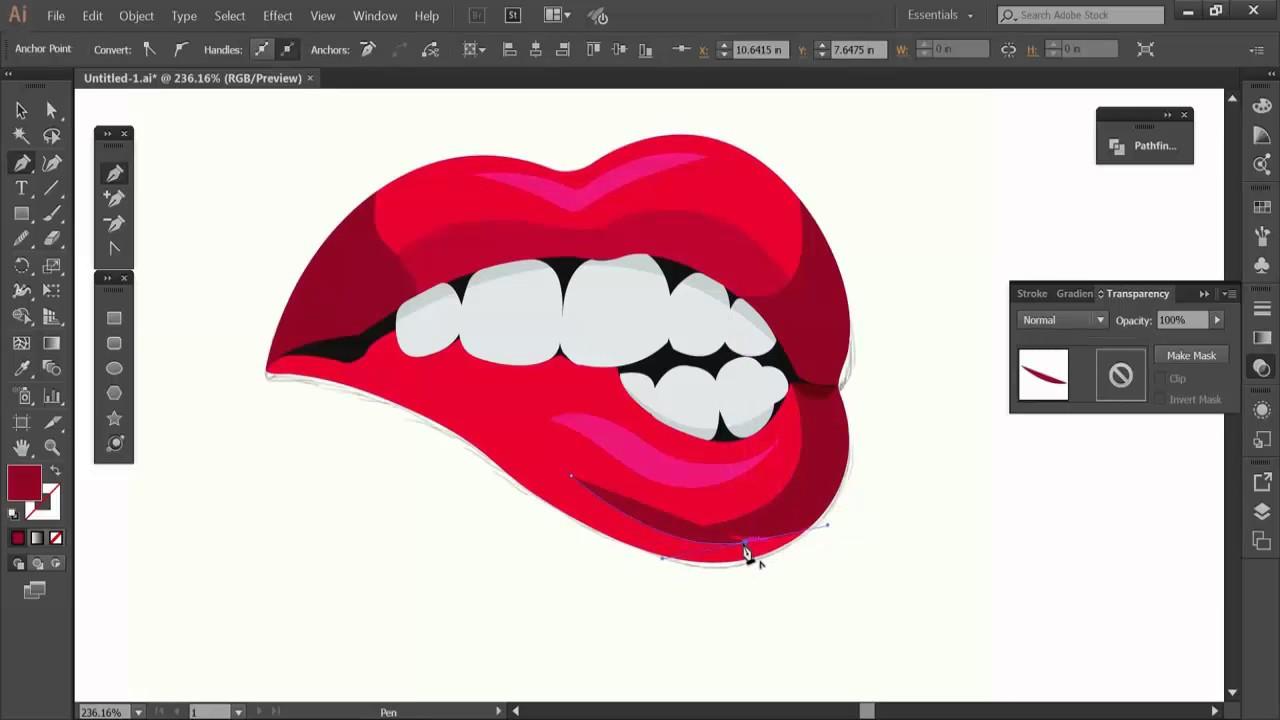 Lips Logo Vector