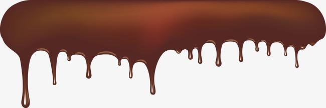 650x217 Chocolate Liquid Vector Material, Chocolate Vector, Chocolate