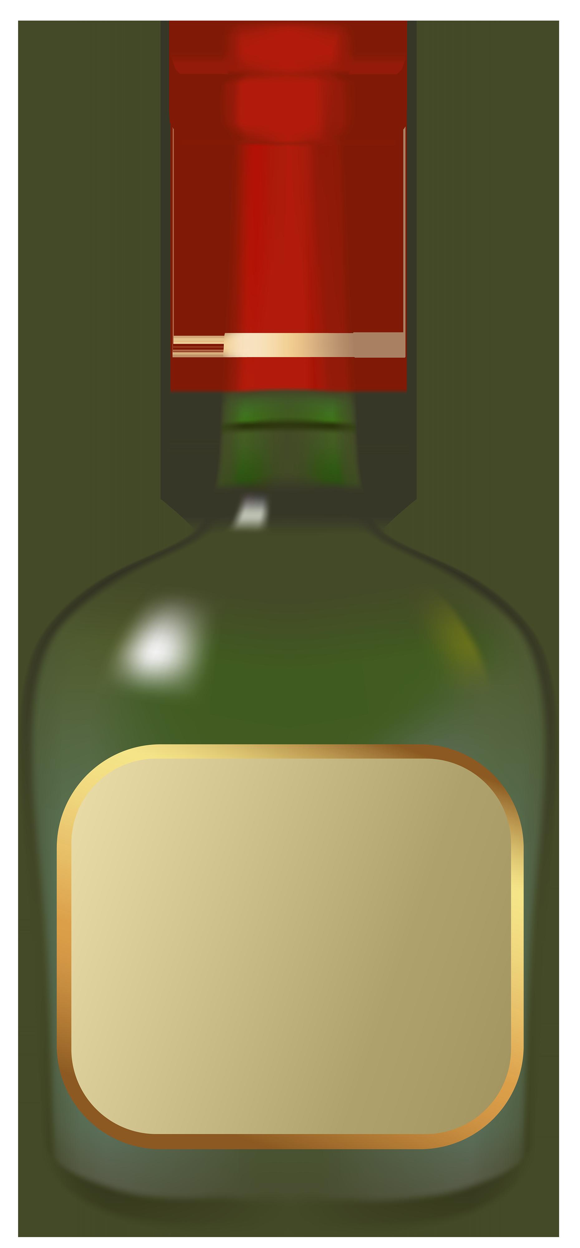 Liquor Bottle Vector