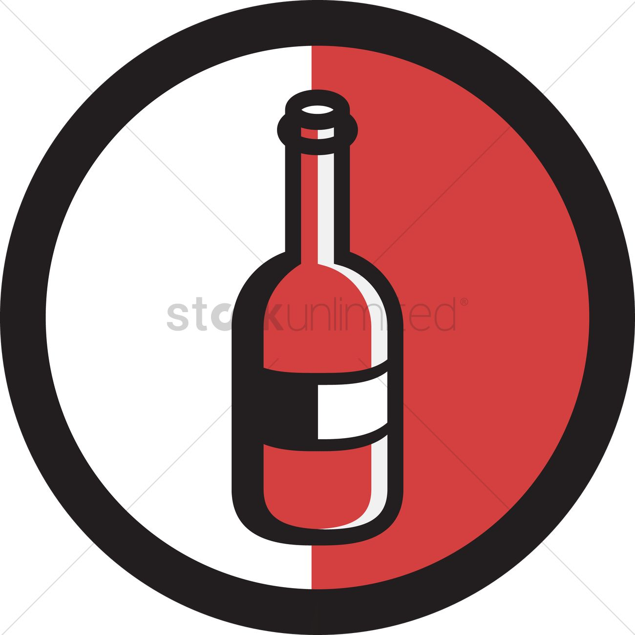 1300x1300 Free Liquor Bottle Vector Image