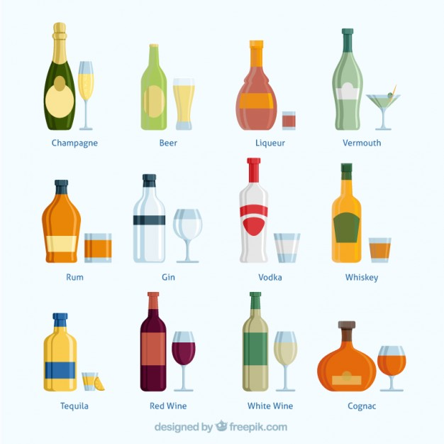 626x625 Alcohol Bottle Vectors, Photos And Psd Files Free Download