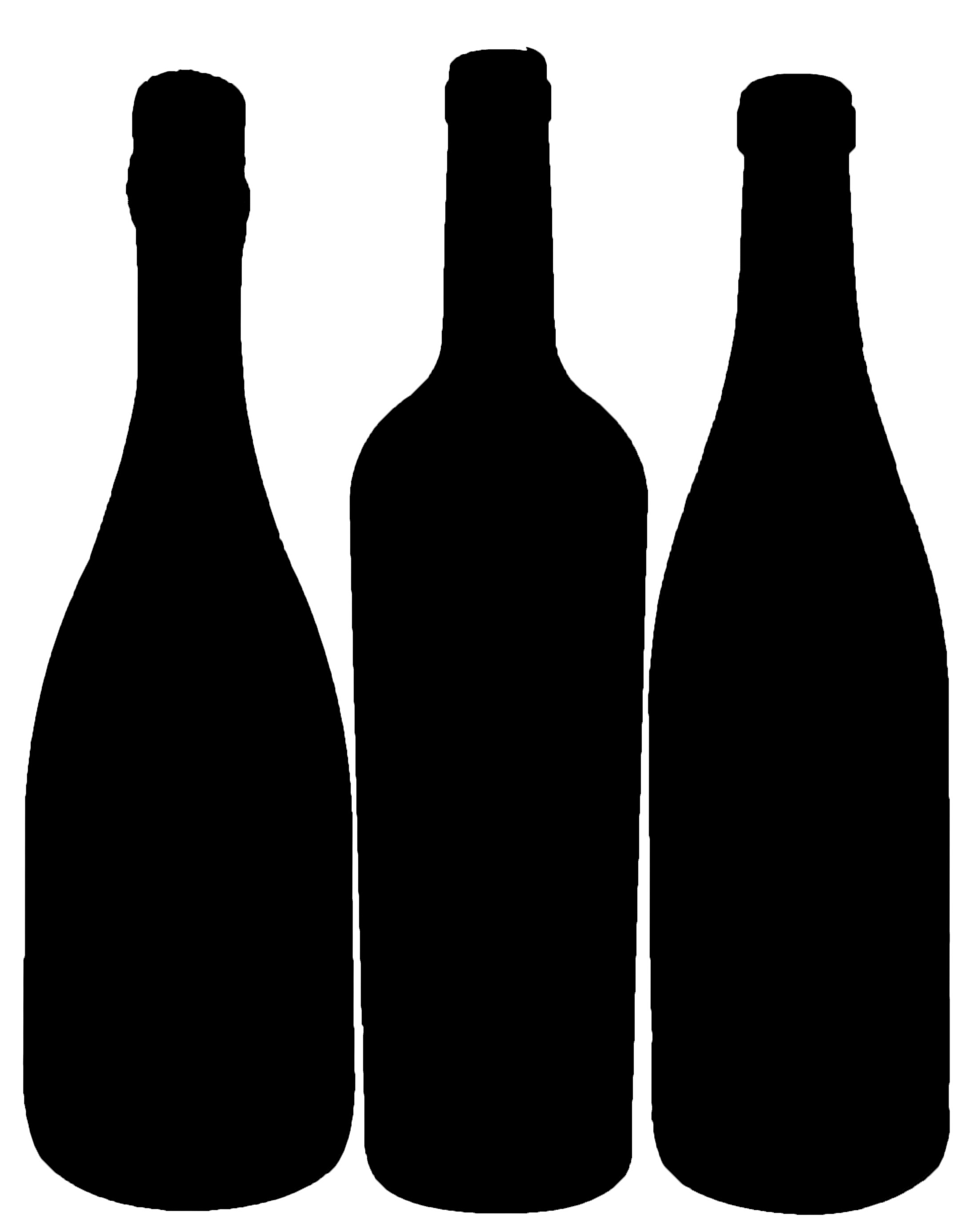 2178x2774 Wine And Liquor Bottles Clipart