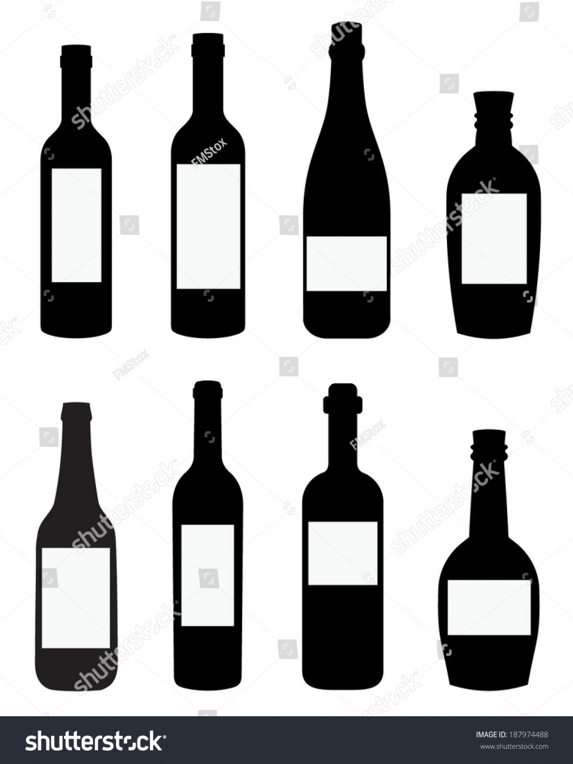1164x1552 Download Free Vector Liquor Wine Bottle Templates Spot Stock