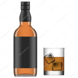 260x260 Download Liquor Bottle Vector Clipart Liquor Whiskey Rum Whiskey