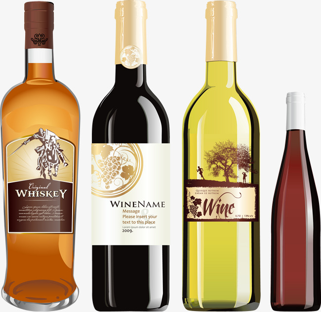 650x633 Vector Material Wine Spirits Liquor, Wine Vector, Wine, Spirits