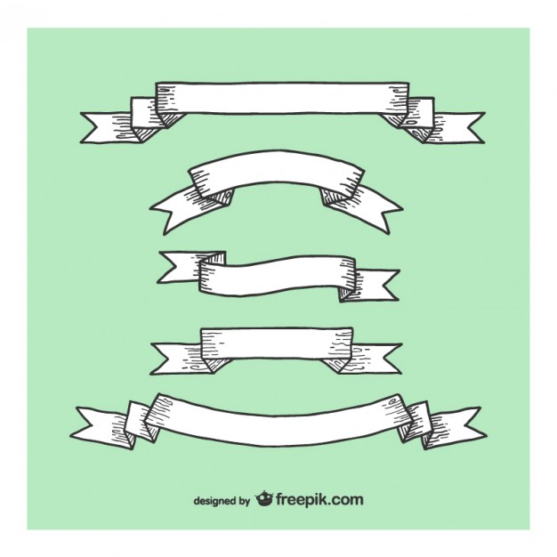 626x626 Wood Ribbons And Laces Set Vector Free Download
