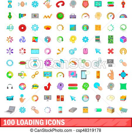 Loading Icon Vector