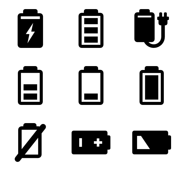 600x564 Loading Icons