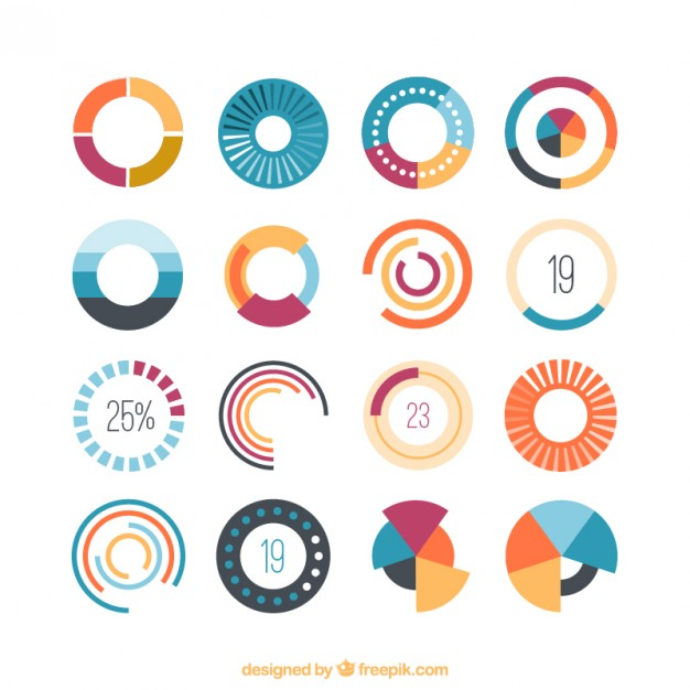 626x626 Colored Loading Icons Vector Premium Download