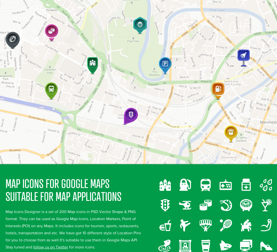 1095x996 Iamdesigner 200 Free Vector Map Icons For Google Maps Api