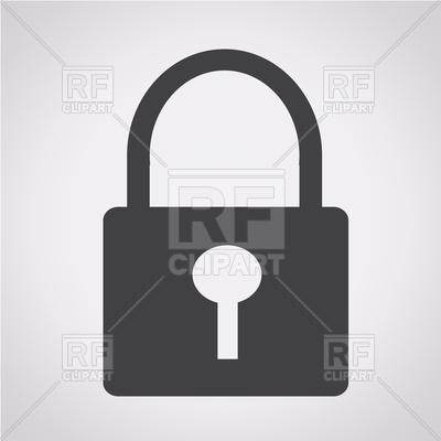 400x400 Lock Icon Vector Image Vector Artwork Of Signs, Symbols, Maps