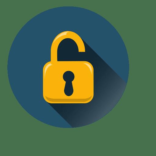 512x512 Lock Circle Icon