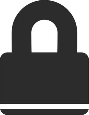 285x368 Padlock Free Vector Download (51 Free Vector) For Commercial Use