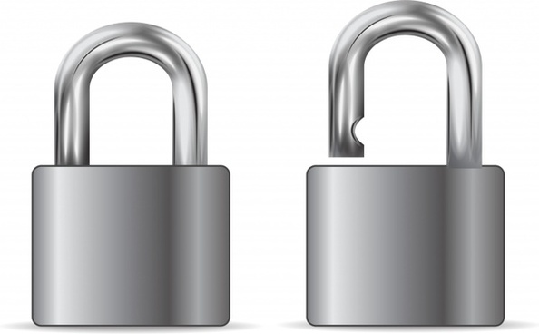 594x368 Padlock Free Vector Download (51 Free Vector) For Commercial Use