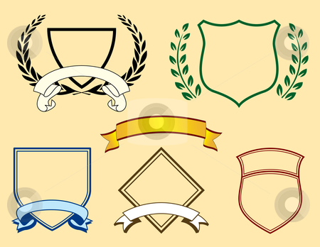 450x348 Banners And Logo Elements Stock Vector