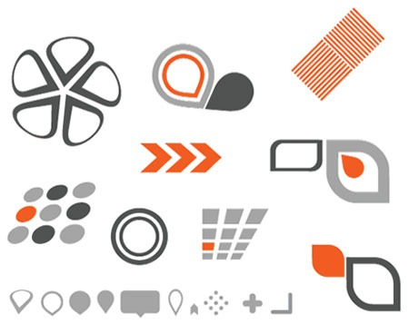 450x357 Free Vector Logo Elements Saffron Stroke