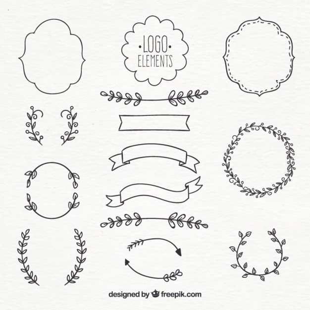 626x626 Logo Element Collection Vector Free Download