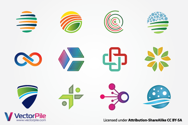 600x400 Vector Logo Elements