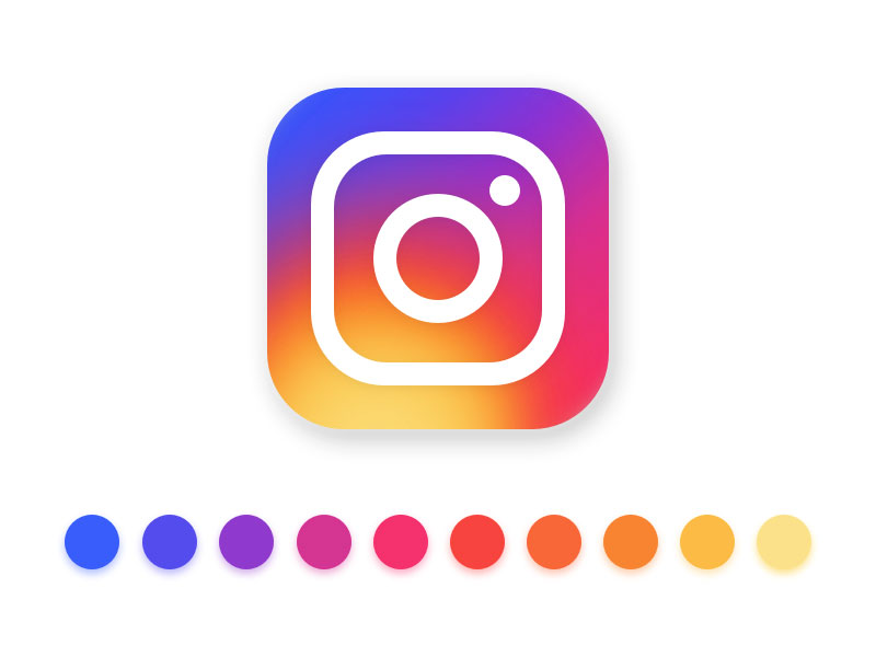 800x600 New Instagram Logo Vector Sketch Freebie