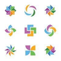 200x200 Trendy Colorful Logos