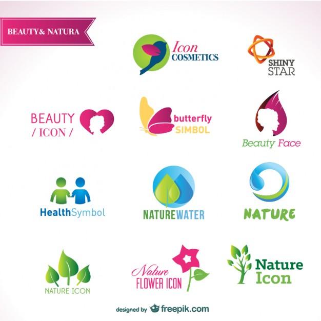 626x626 Beautiful Logos Templates Vector Free Download