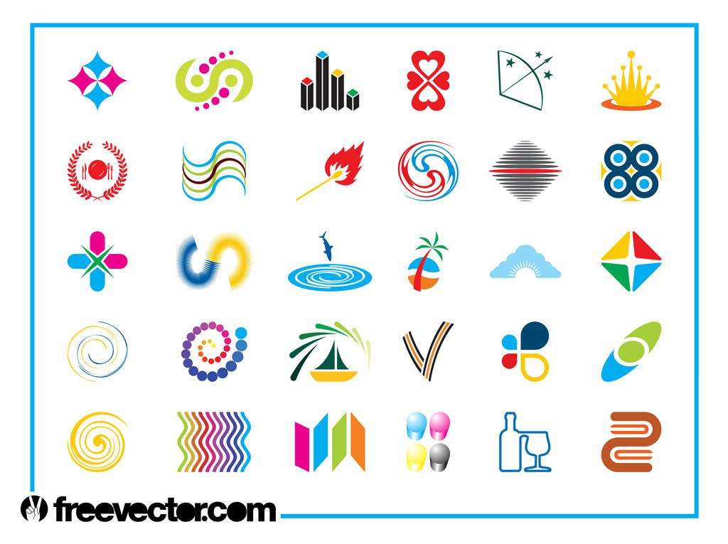 1024x765 Colorful Logo Icons Set Vector Art Amp Graphics