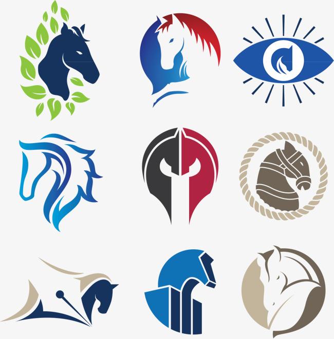 650x661 Creative Vector Horse Logo Design, Logo Design, Flag Icon, Cartoon