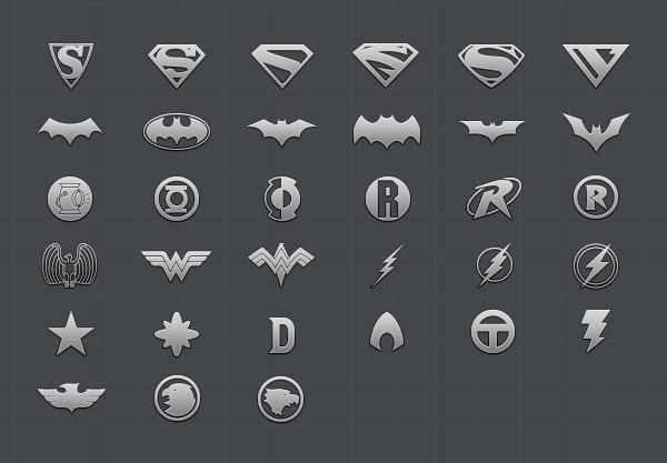 600x417 Free Vector Psd Comic Hero Icons Freecreatives