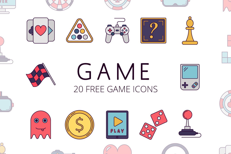 1440x960 Game Vector Free Icon Set