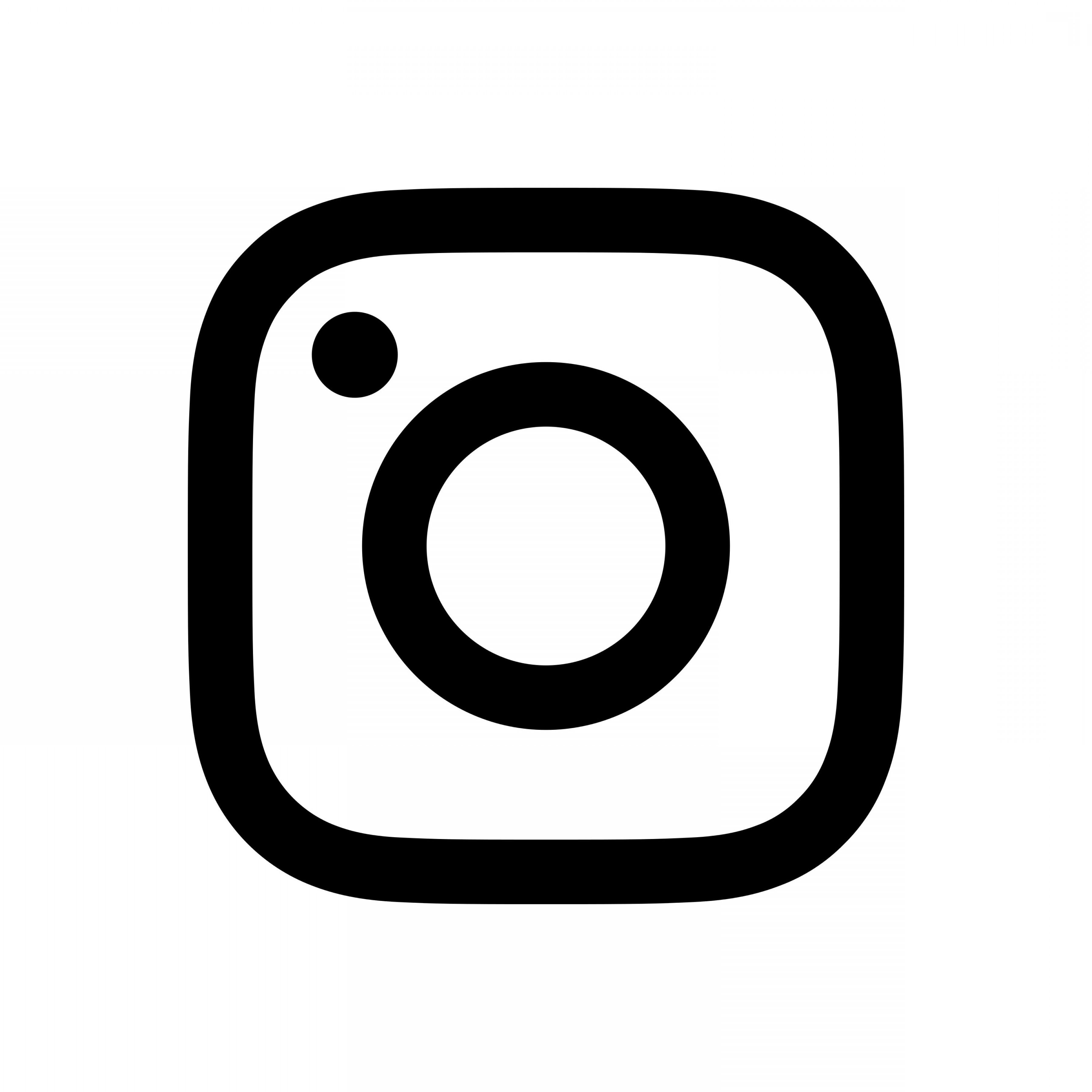 3600x3600 Instagram Logo Black And White Transparent Geekchicpro