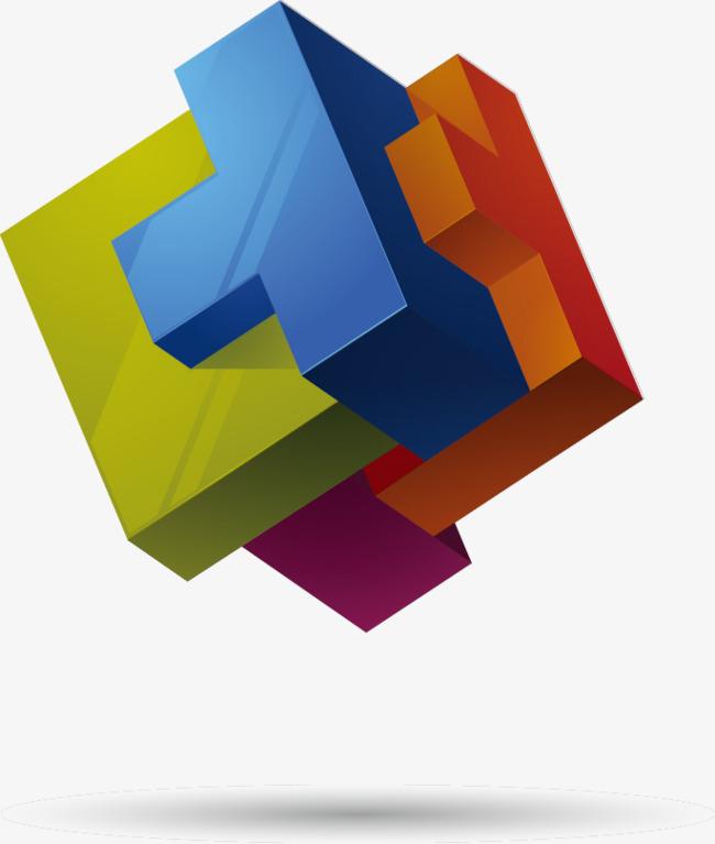 650x767 3d Shape Logo Vector Material, Logo Vector, 3d, Shape Png And