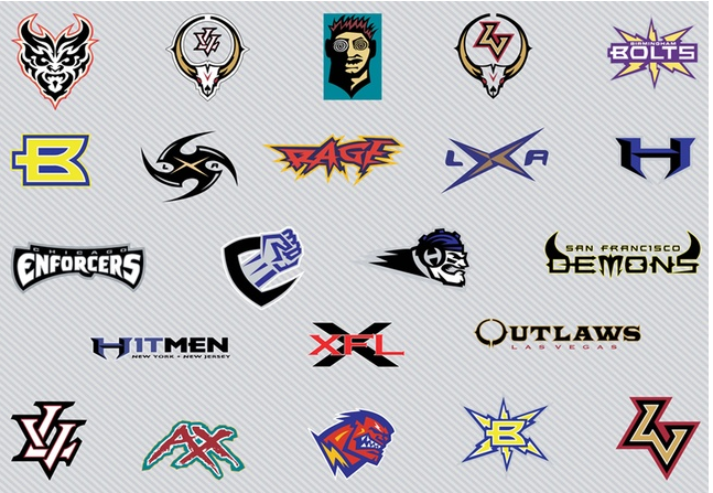 647x447 Football Logo Free Download Vector Set