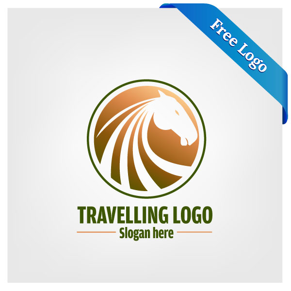 600x600 Free Vector Travelling Logo Download In (.ai Amp .eps) Format