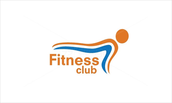 585x350 Gym Fitness Logo Template Psd Format Download Free