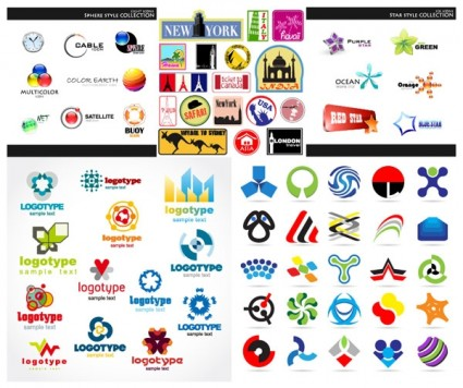 425x356 Set Of Vector Graphic Logo Vector Free Vector Download In .ai
