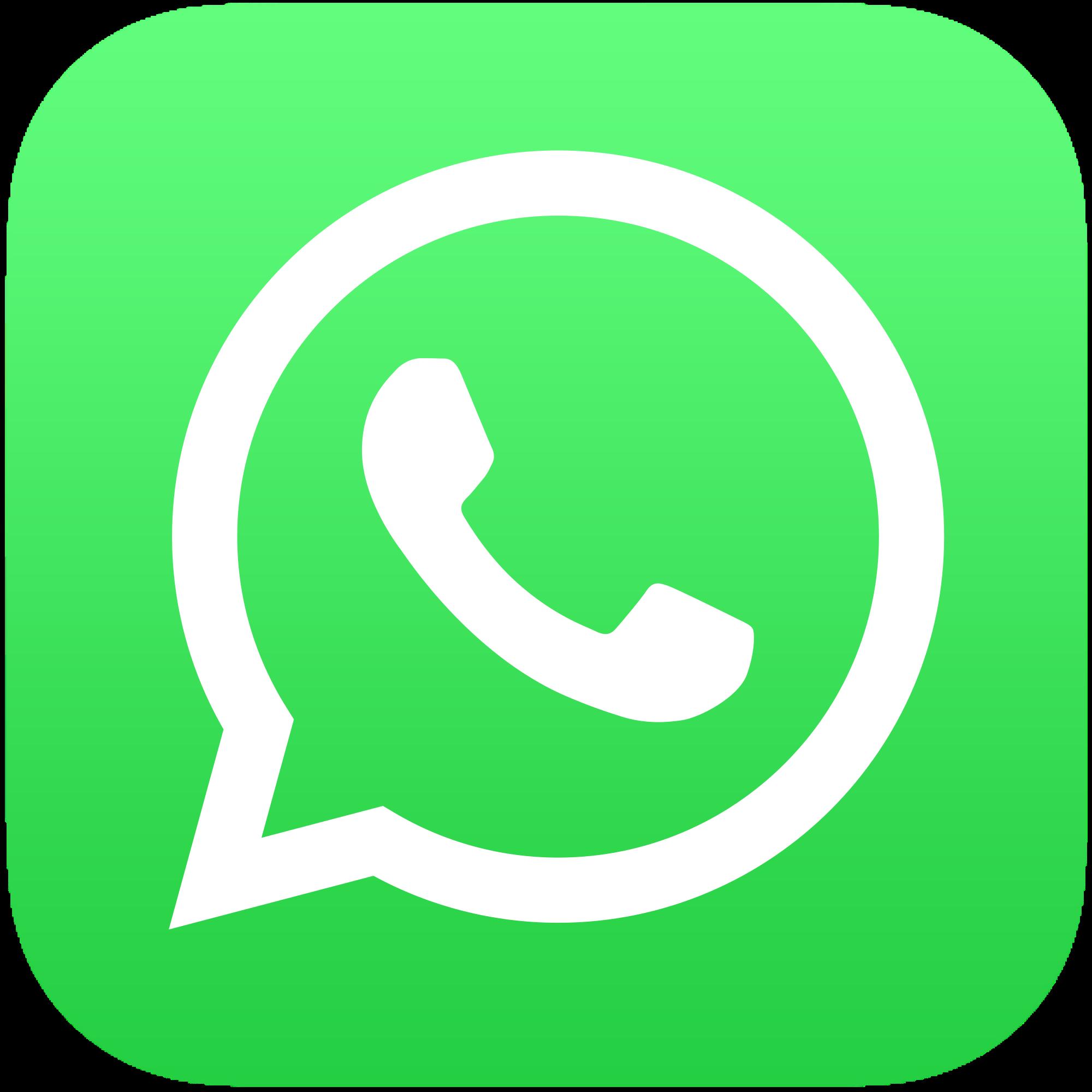 2000x2000 Whatsapp Whatsapp Logo Design Icons Vector Download