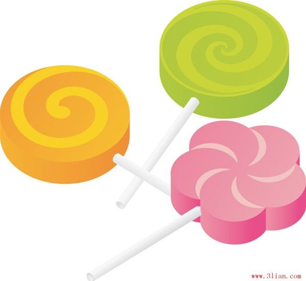 600x551 Lollipop Vector Free Vector In Adobe Illustrator Ai ( .ai ) Vector